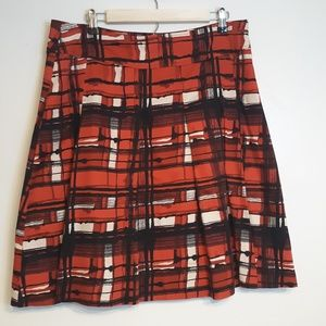 New York & Co pleated skirt Size 12